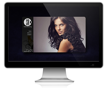 SR1 Hairdressing Website Design