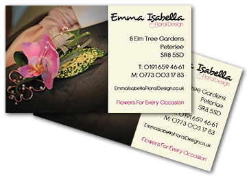 Emma Isabella business cards