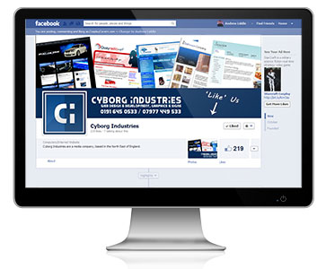 We, obviously, take advantage of our Facebook Page Management Services