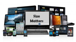 size matters responsive website design