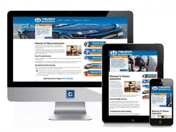 Tiburon Automotive's Website
